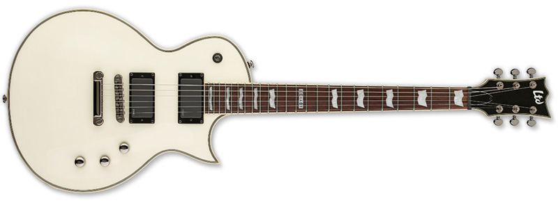 ESP LTD EC-401 EC Series Electric Guitar - Olympic White Finish Mahogany Body & Neck (LEC401OW)