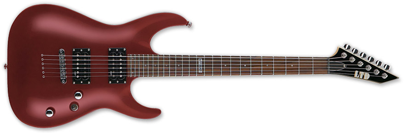 ESP LTD MH-50 NT MH-Series Electric Guitar - Black Cherry Finish Basswood Body & Maple Neck (LMH50NTBCH)