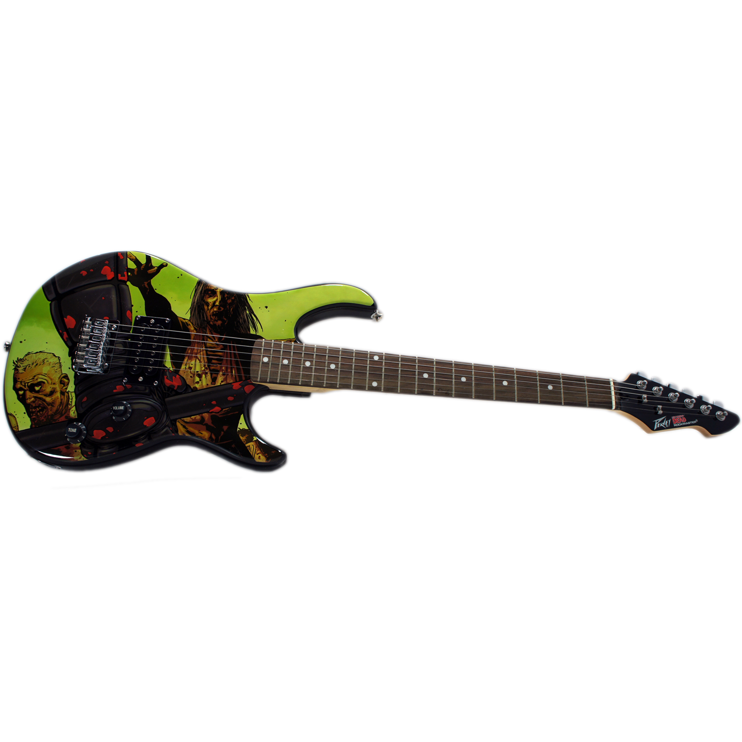 Peavy Rockmaster The Walking Dead - Riot 26 Full Size Maple Neck Electric Guitar