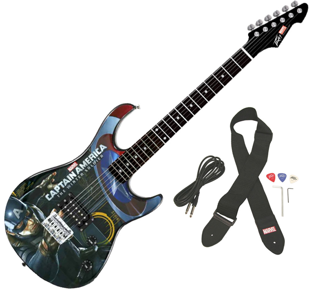 peavey rockmaster captain america the winter soldier electric guitar stand pev14 3023510 pack. Black Bedroom Furniture Sets. Home Design Ideas