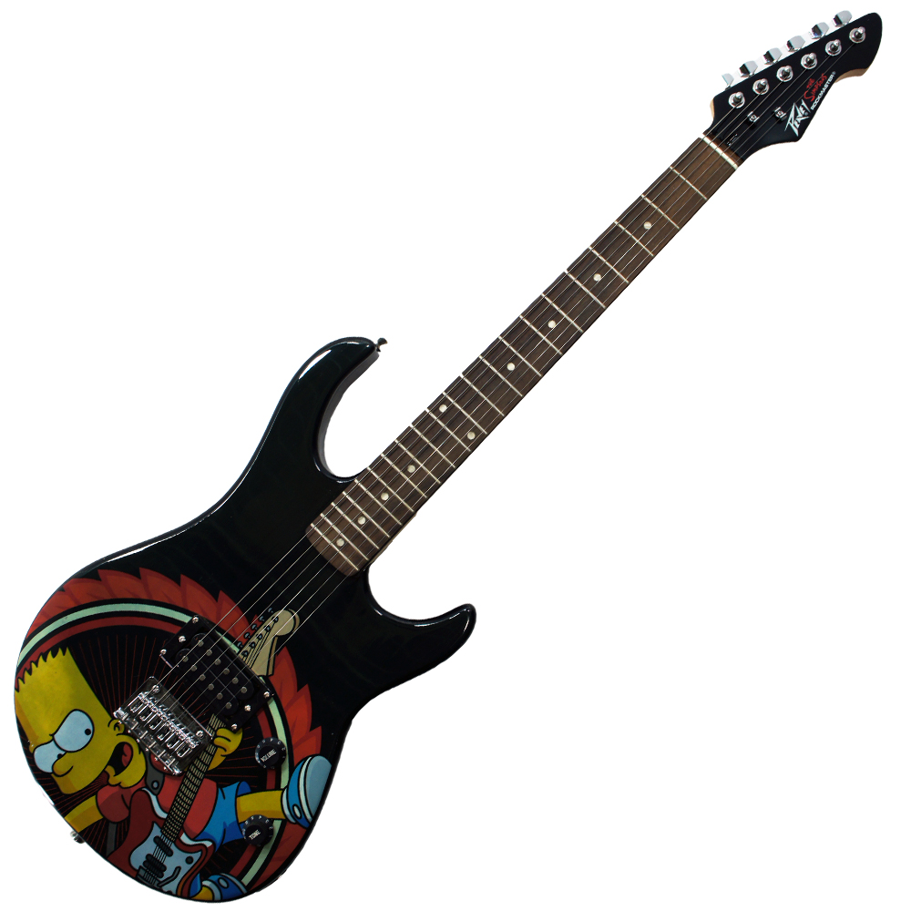 Peavey Simpsons Rockmaster Full-Size Electric Guitar with Rocking Bart Decal (03020340)