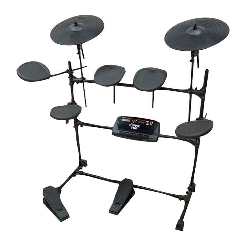 pyle ped02m electric thunder drum kit with mp3 recorder ped02m. Black Bedroom Furniture Sets. Home Design Ideas