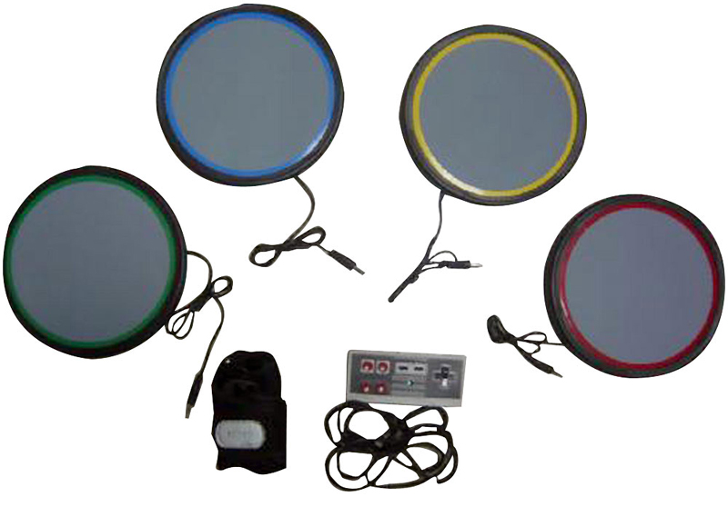 Pyle PGMDK40 UNIVERSAL Table-Top DRUM KIT for PS2/PS3/WII ROCKBAND GAMES  sc 1 st  HiFi Sound Connection : table top drum set - Pezcame.Com