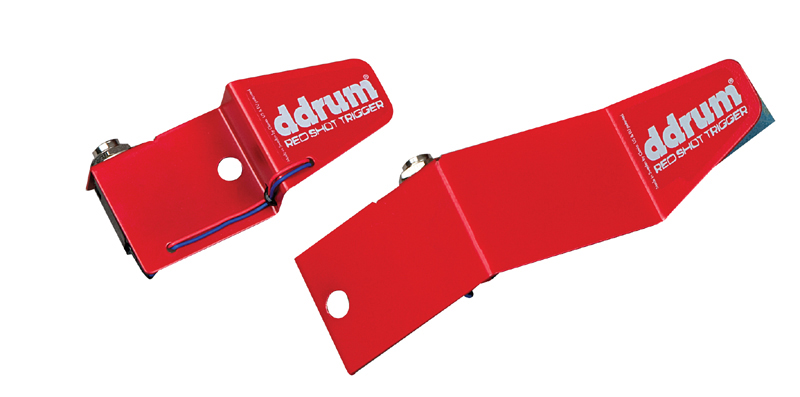 "Ddrum 5 Piece Red Shot Trigger Kit w/ 1/4"" Connector (RS KIT)"