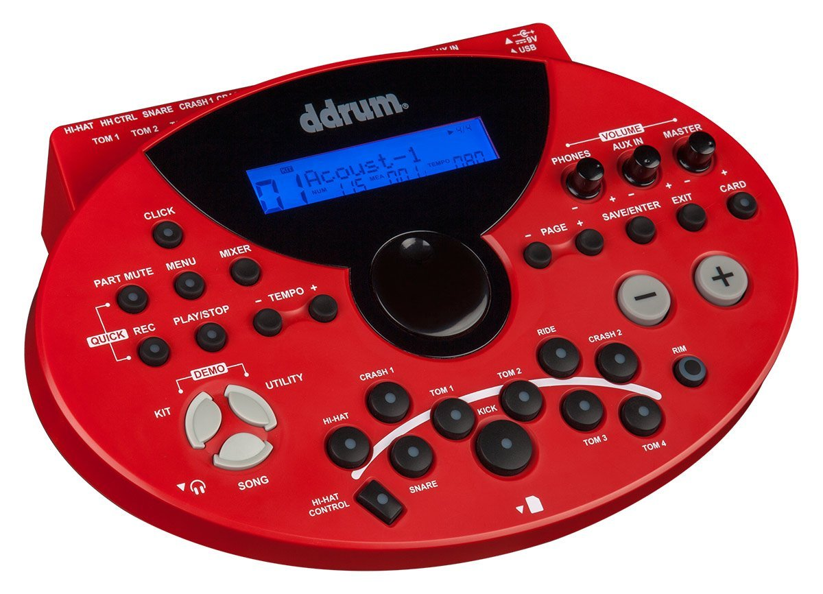 dDrum DD5XM Electronic Drum Module with Onboard Metronome (DD5XM)