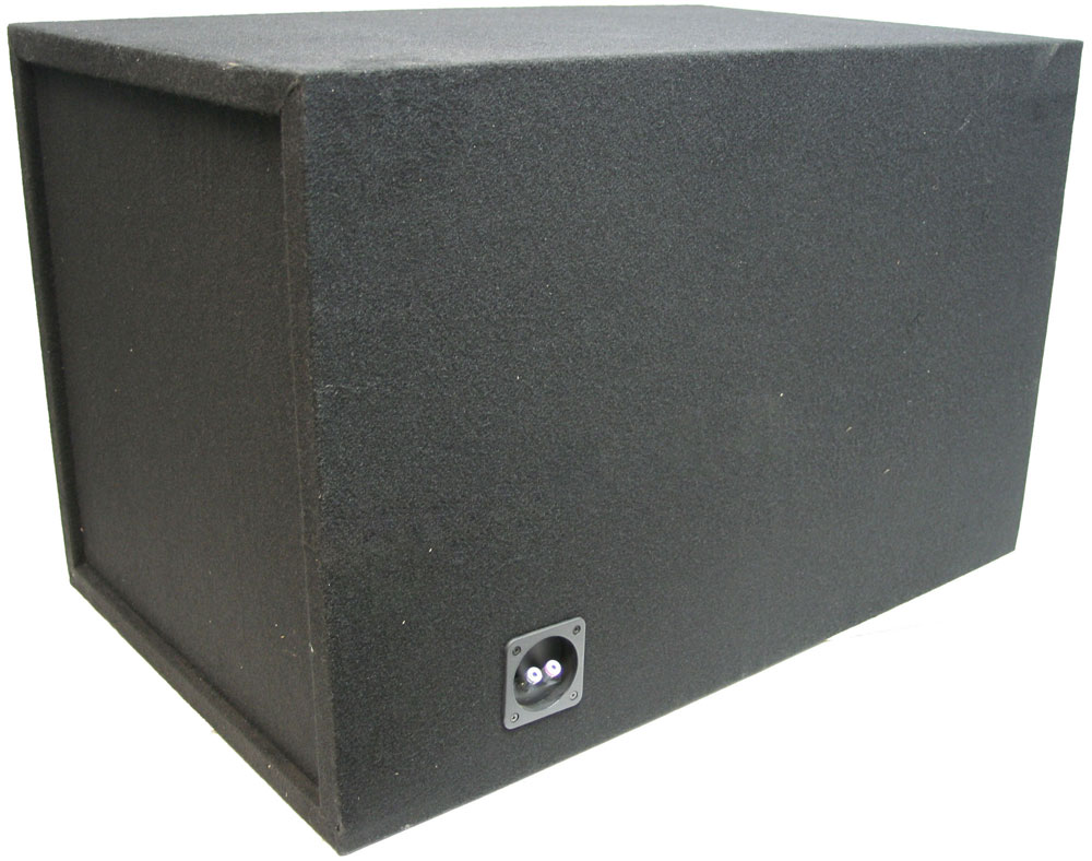 Single 18 U0026quot  Solt Vented 1 U0026quot  Mdf Sub Box Enclosure W   Re
