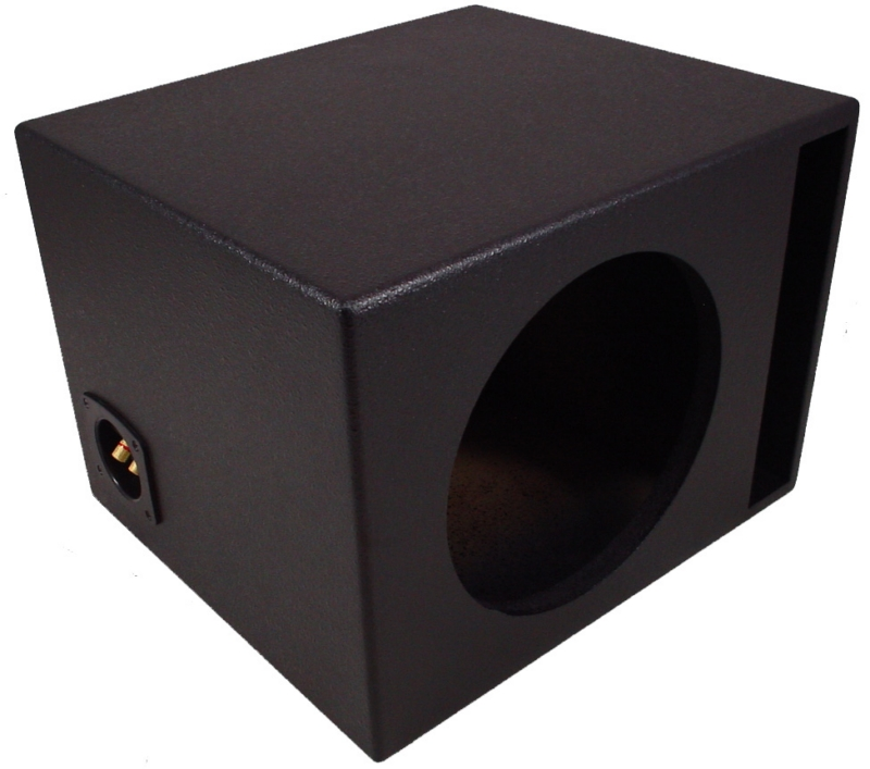 universal car stereo rhino coated ported 15 kicker compr. Black Bedroom Furniture Sets. Home Design Ideas