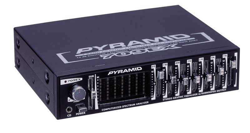 Pyramid 709ex 7 Band Graphic Equalizer W   12db Boost