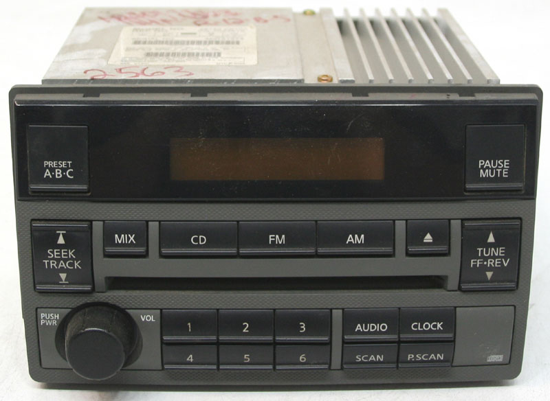 Nissan Altima 2005-2006 Factory Stereo Am  Fm Single Disc Cd Player Oem Radio  Frost Color