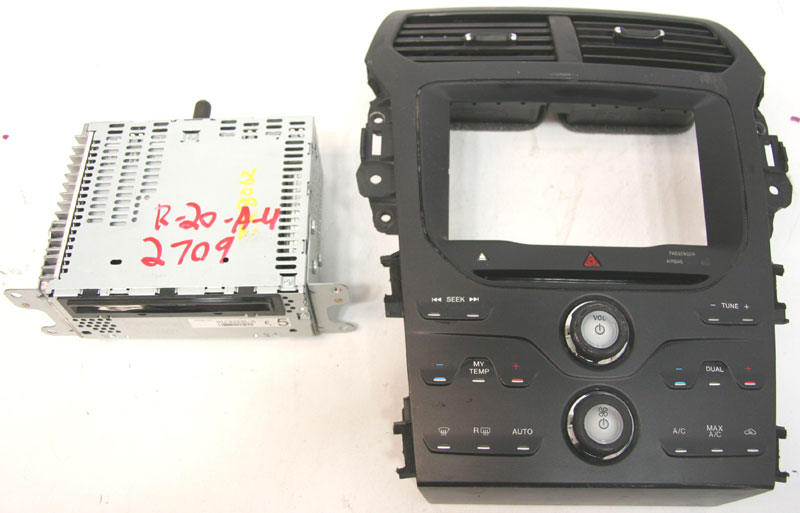 2011 Ford Explorer Factory Stereo Sirius Sat Ready Mp3 Cd Player Oem Radio