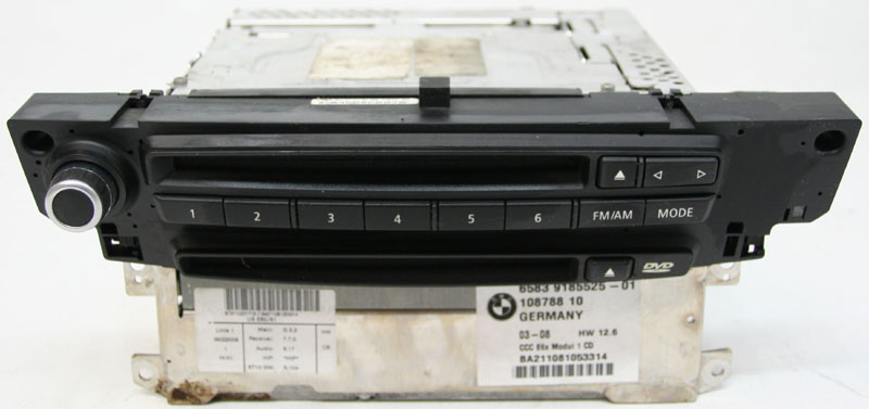 2008-2010 BMW M6 Factory CD & DVD Navigation Disc Drive for Factory OEM  Radio