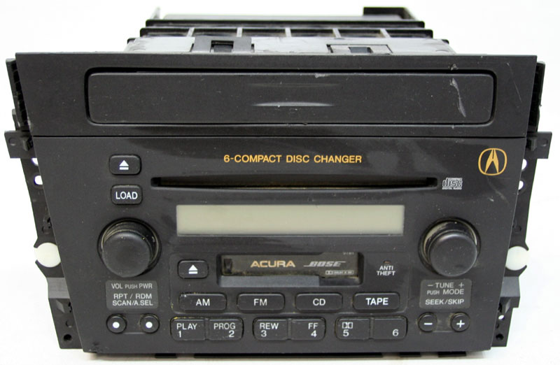 2002-2003 Acura TL Factory Stereo Tape 6 Disc Changer CD Player OEM Radio