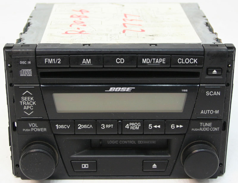 20012002 Mazda 626 Factory Stereo Bose Tape 6 Disc Changer Cd Rhhifisoundconnection: Mazda 626 Radio No Screen At Gmaili.net