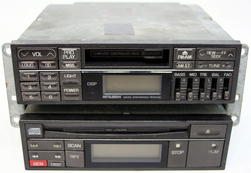 1991-1992 Dodge Stealth Factory Stereo Tape CD Player OEM Radio MB649764