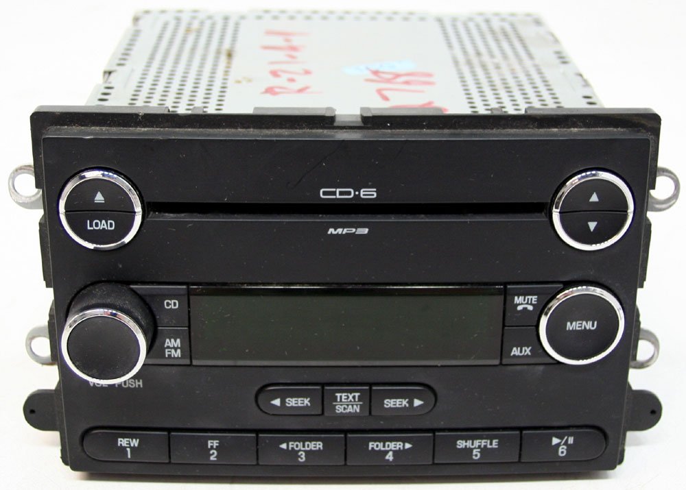 Ford Taurus X 2008-2009 Factory Stereo 6 Disc Changer Mp3 Cd Player Oem Radio