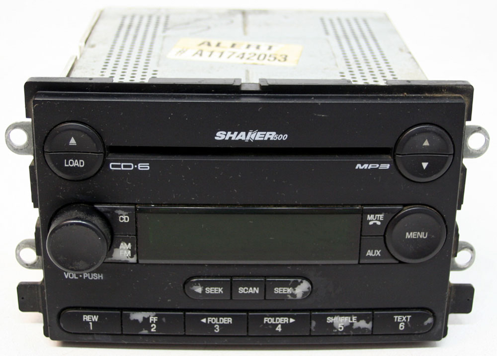 Ford Mustang 2005-2006 Factory Stereo Shaker 500 MP3 6 Disc Changer CD Player OEM Radio
