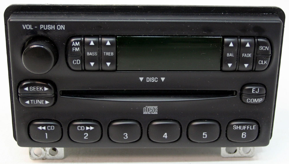 Ford Mustang 2001-2006 Factory Stereo AM/FM CD Player OEM Radio 3L2T18C815UB