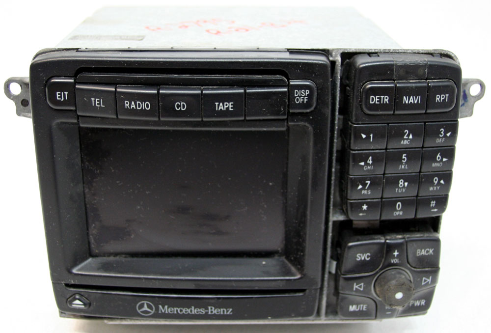 Mercedes Benz S500 2001-2002 Factory Stereo Tape NAV CD Player OEM Radio