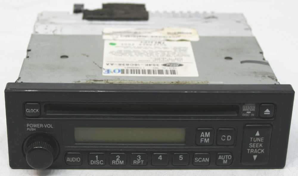 Ford Escort ZX2 Coupe 2003 Factory Stereo CD Player AM/FM OEM Radio