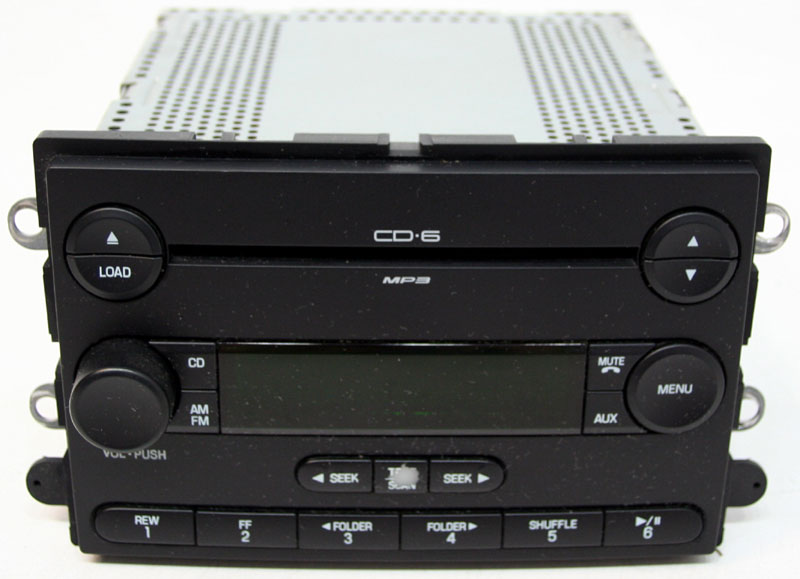 Ford Expedition 2007 Factory Stereo Sirius Ready 6 Disc MP3 CD Player OEM Radio