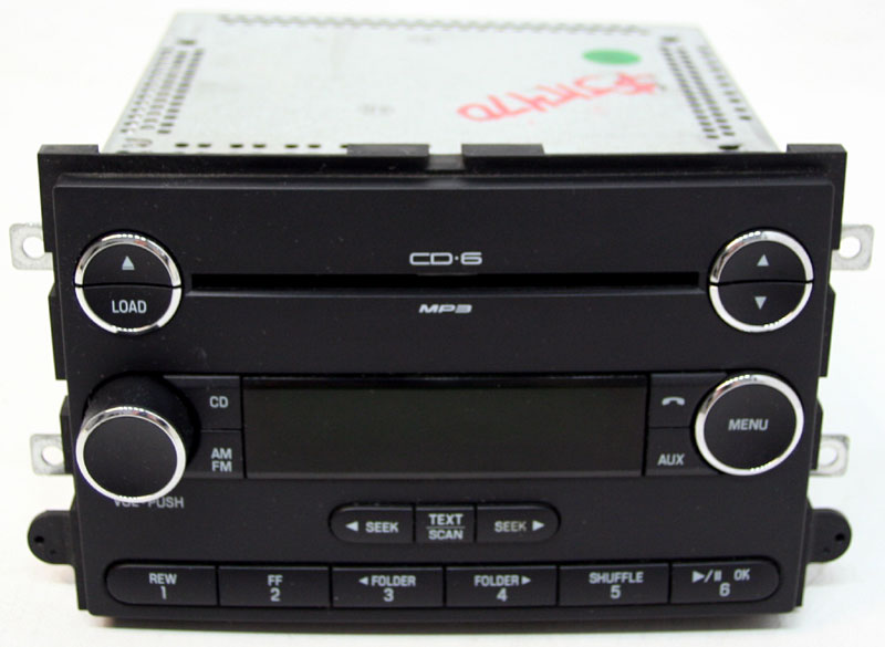 Ford Explorer 2008-2009 Factory Stereo Sirius Ready 6 Disc Changer MP3 CD Player Radio