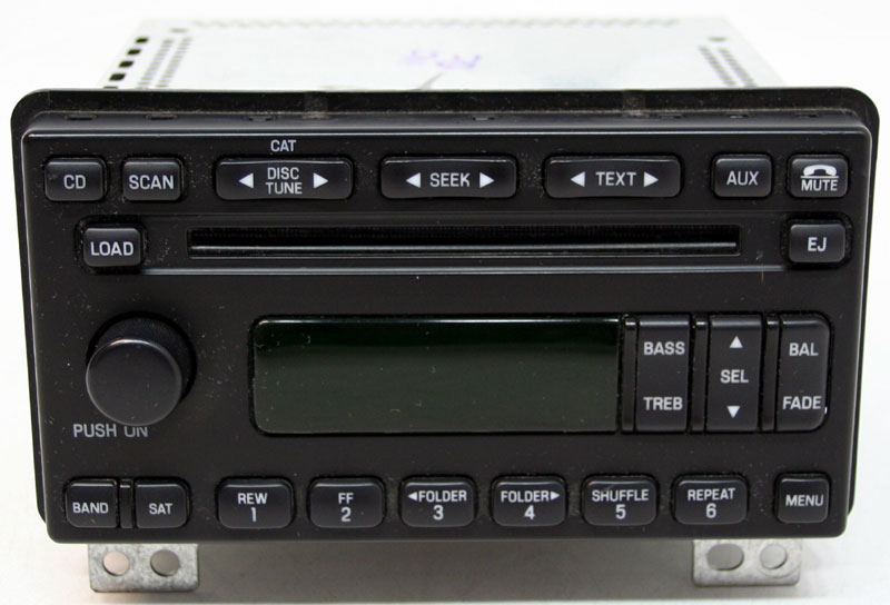 Ford Expedition 2006 Factory Stereo Sirius Ready 6 Disc Changer CD Player OEM Radio