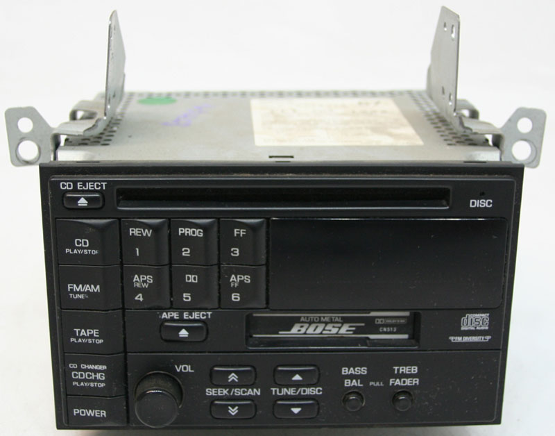 Infiniti Q45 1995-1996 Factory Stereo Bose AM/FM Tape & CD Player Radio CN513