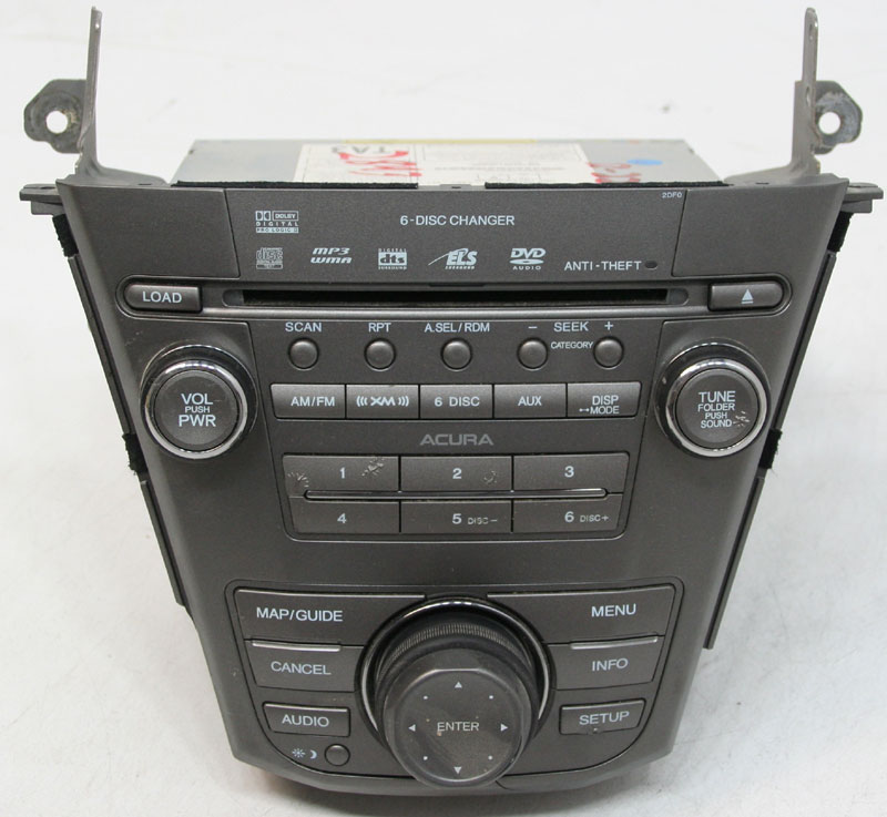 Acura MDX 2007-2009 Factory SAT Ready 6 Disc DVD CD Player