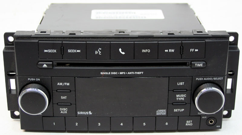 Dodge Ram  Truck 2012 Factory Stereo AM/FM Sirius Ready MP3 CD Player OEM Radio
