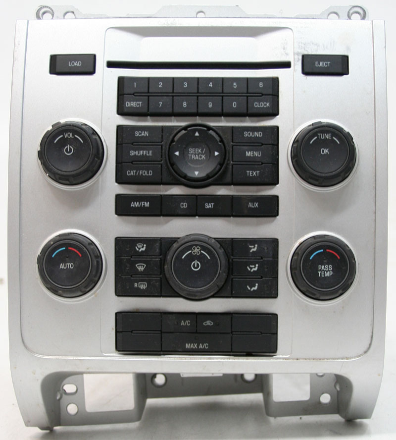 Ford Escape 2008 Factory Stereo 6 Disc Changer CD Player OEM Radio 8L8T19C108AG