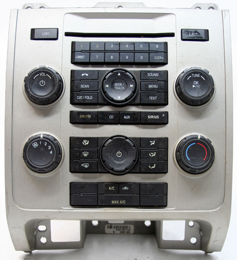 Ford Escape 2008-2010 Factory Stereo MP3 CD Player OEM Radio w/ Climate Controls