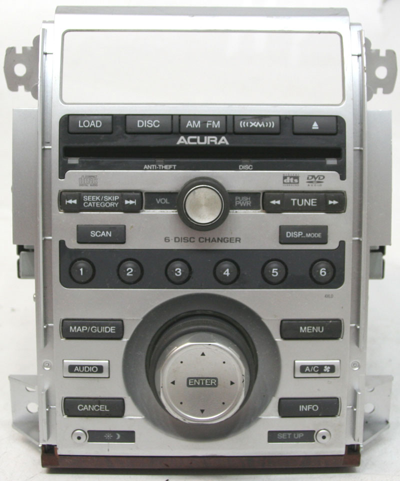 Acura RL 2006-2008 Factory Stereo 6 Disc Changer SAT Ready