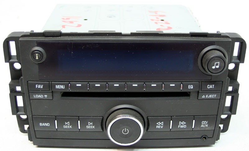 Chevy Impala 2009 Factory Stereo 6 Disc Changer MP3 CD Player OEM Radio 25980719