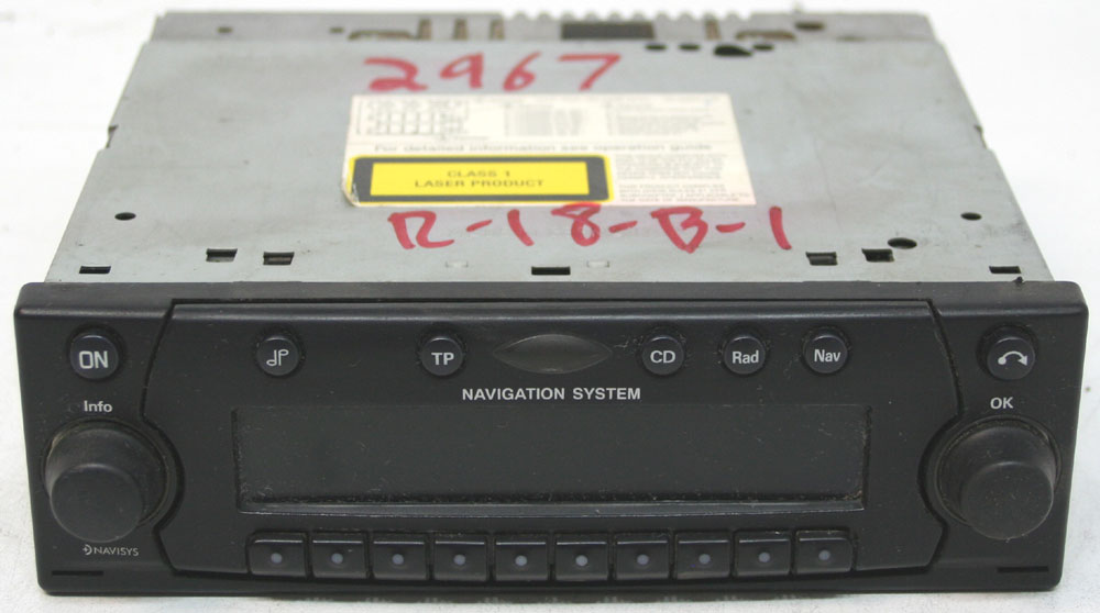 Land Rover Discovery Ii 20022004 Factory Stereo Nav Navigation Cd Rhhifisoundconnection: 2004 Land Rover Discovery Radio At Elf-jo.com
