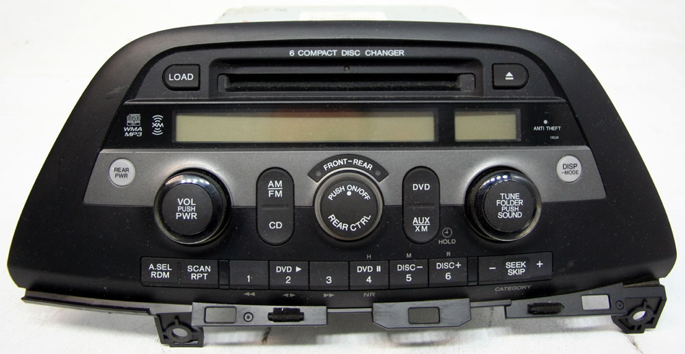 Honda Odyssey 2005-2010 Factory Stereo 6 Disc Changer MP3 CD Player SAT Ready Radio