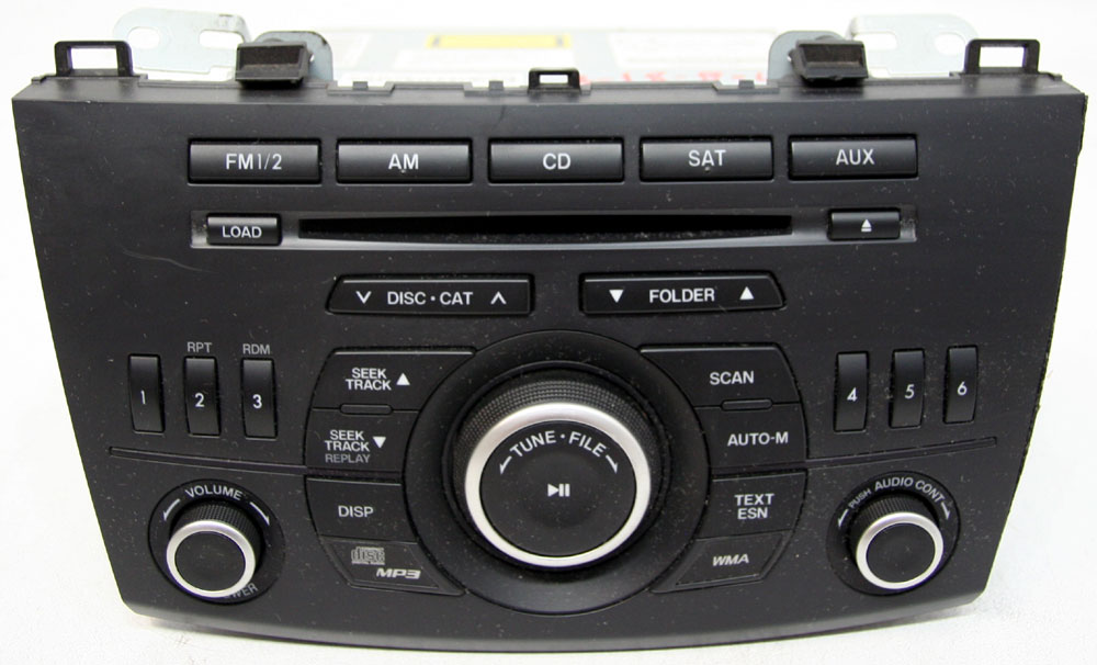 Mazda 3 2012-2013 Factory Stereo Single Disc MP3 CD Player ...