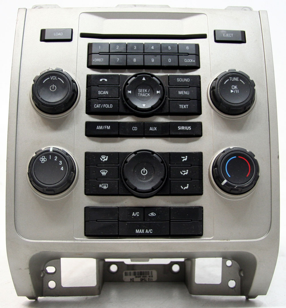Ford Escape 2009 Factory Stereo Single Disc MP3 CD Player OEM AM/FM Radio 9L8T19C157