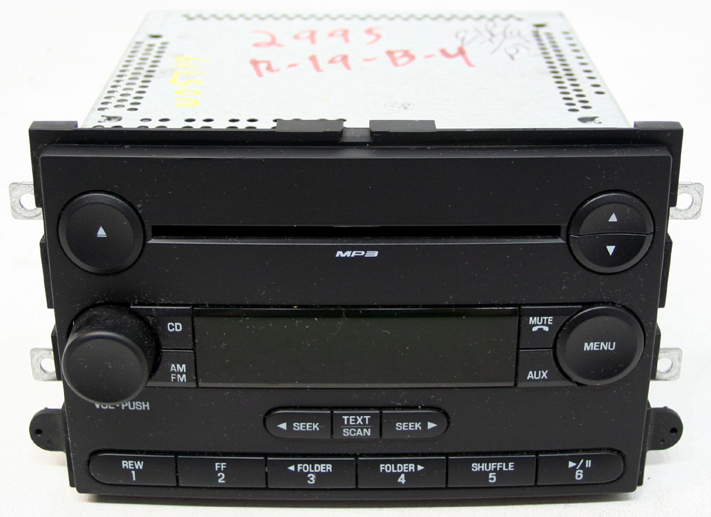 Ford Edge 2007 Factory Stereo Single Disc MP3 CD Player OEM AM/FM Radio