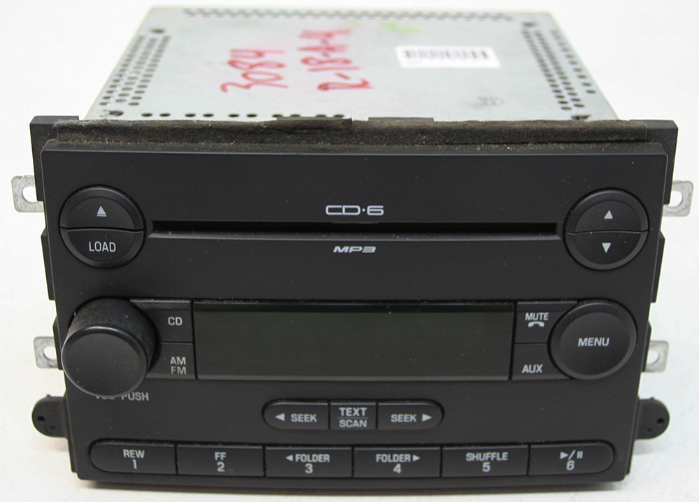 Ford Fusion 2007 Factory Stereo AM/FM MP3 6 Disc Changer CD Player OEM Radio