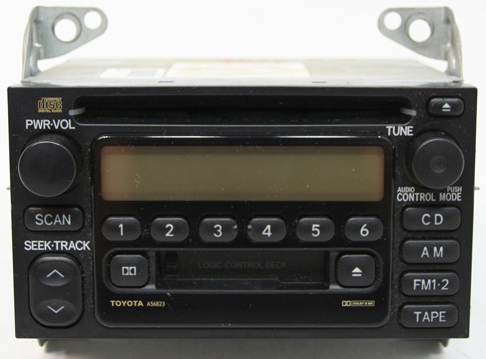 toyota tacoma 2002 2004 factory stereo am fm tape cd player oem rh hifisoundconnection com toyota factory radio upgrade toyota factory radio repair