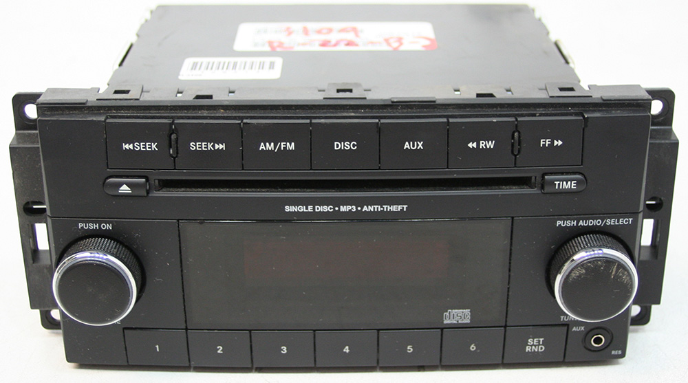 Dodge Caravan 2012-2014 Factory Stereo AM/FM MP3 CD Player OEM Radio