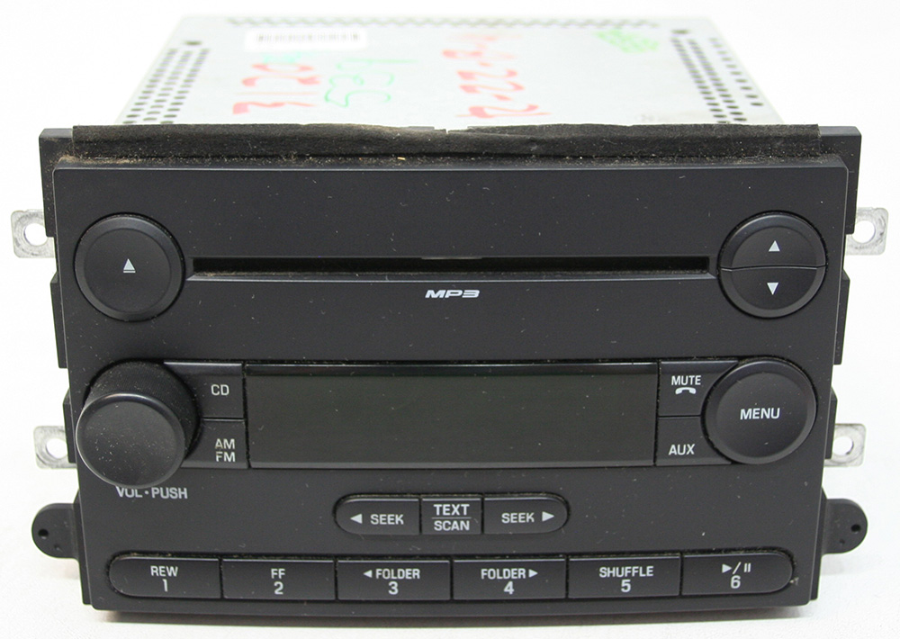 Ford Fusion 2007 Factory Stereo AM/FM MP3 Single Disc CD Player OEM Radio