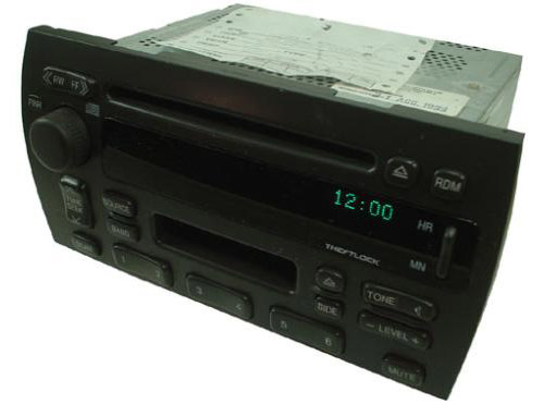 2000-2001 Cadillac Deville Factory AM/FM Stereo Radio Cassette CD Player