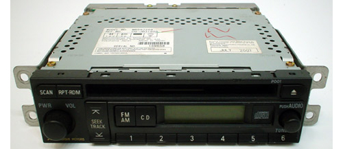 2002-2003 Mitsubishi Galant Factory AM/FM Radio CD Player