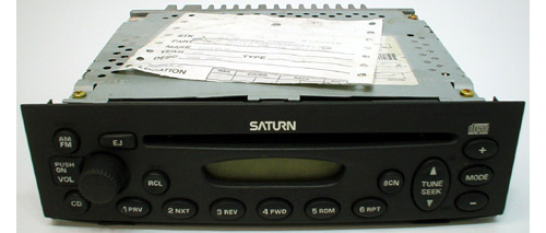 2004 saturn ion factory am fm radio cd player r 1090. Black Bedroom Furniture Sets. Home Design Ideas