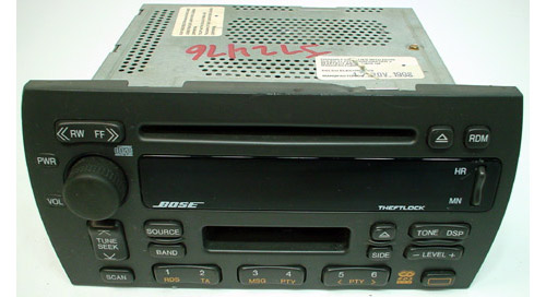 19981999 Cadillac Catera Factory AMFM Tape Bose CD Player R1094