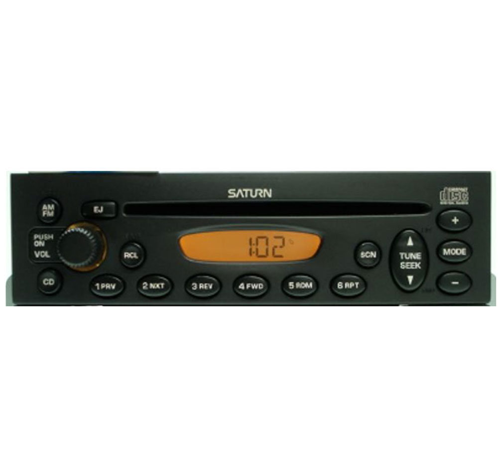 2000-2002 Saturn S Series Factory AM FM CD Player