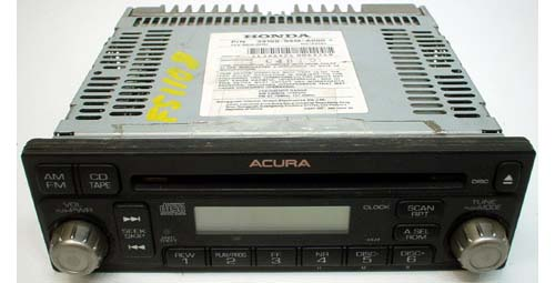 2002-2004 Acura RSX Factory AM FM Radio CD Player