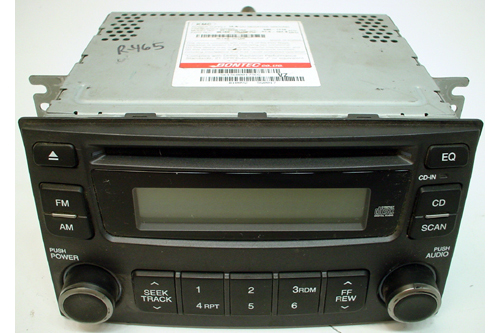 2007 Kia Magentis AM/FM Factory CD Player Radio