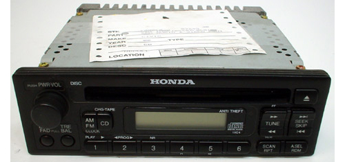 Factory Stereo R 1358 detailed image 1 1999 2001 honda cr v factory am fm radio cd player r 1358  at reclaimingppi.co